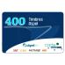 400 Timbres para Facture, caja, SAE o NOI (electrónico)