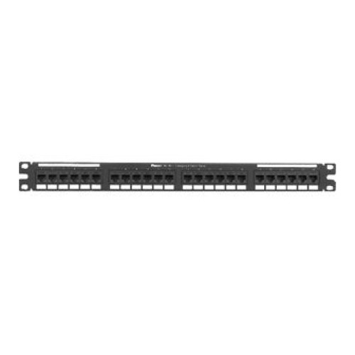 Patch panel de 24 puertos rj45 cat 6 panduit nk6ppg24y - Patch panel de 24 puertos ...