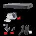Kit DVR+4 cámaras bala 2.8MM 1080P, Hikvision KH1080P4BW
