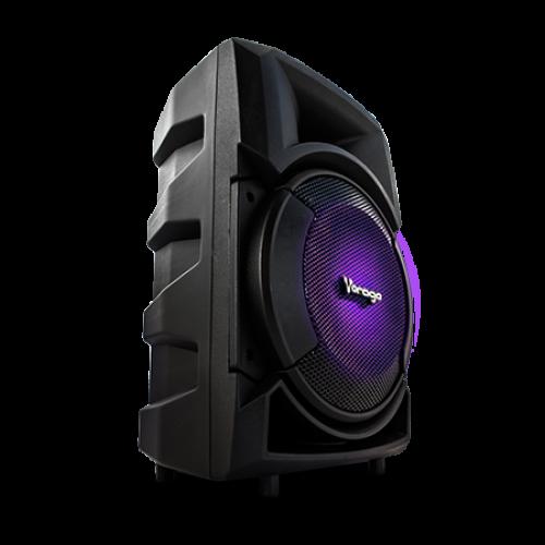 Bocina 8 Quot Karaoke Vorago Ksp 300 Bluetooth Fm Recargable