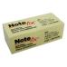 12 piezas notas adhesivas note FIX 3.8X5.1 amarillo con 100H