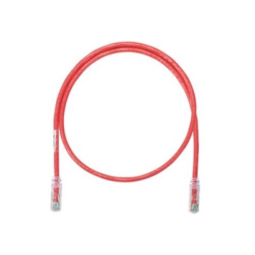 Cable de red utp categor a 6 de 1 5 metros rojo panduit for Cable de red categoria 6