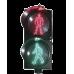 Semáforo peatonal con indicador alto/siga estático, PROLIGHTPAS