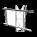 Brazo para torre arriostrada de ángulo para tramos de 30, 35 y 45cm de ancho, SBL-UNI-2G