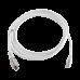 Cable de red tera Cat6A 1/10G Eth, marfil 10m, T4A-S10M-B02L